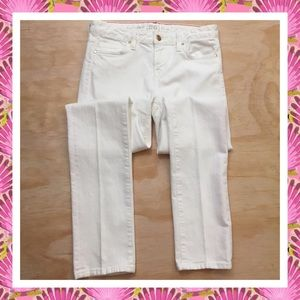 Kate Spade White Perry Street Play Hooky Jeans 26